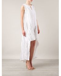 Thakoon - White Cape Back Dress - Lyst