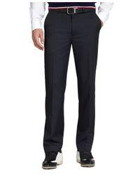 Brooks Brothers - Blue St Andrews Links Plain-front Pants for Men - Lyst