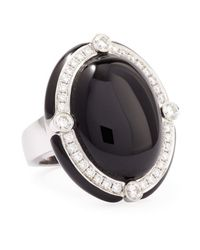 Ivanka Trump | Bw Collection- Black Onyx and Diamond Cocktail Ring | Lyst