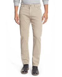 Bugatchi | Natural Five-pocket Corduroy Pants for Men | Lyst