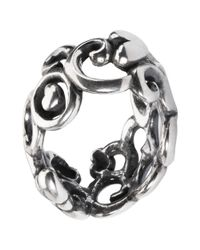 Trollbeads | Metallic Mother's Day Mother's Garden Sterling Silver Charm | Lyst
