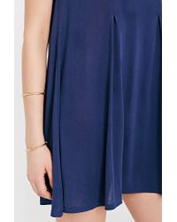 Silence + Noise | Blue Riley Trapeze Dress | Lyst