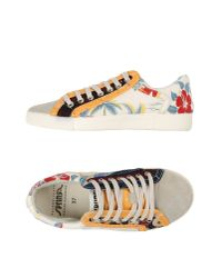 Springa - White Low-tops & Trainers - Lyst
