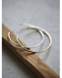 Free People - Metallic Phyllis + Rosie Jewelry Womens Hammered Open Cuff Duo - Lyst
