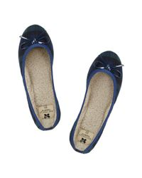 Butterfly Twists | Blue Ballerina Shoe | Lyst