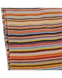 Paul Smith   Brown Multi Stripe Cotton Socks for Men   Lyst