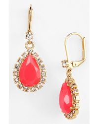 kate spade new york | Pink Women'S 'Balloon Bouquet' Drop Earrings - Geranium | Lyst