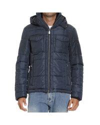 Peuterey | Blue Down Jacket for Men | Lyst