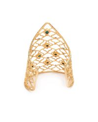 Alexis Bittar | Green Mosaic Lace Cuff Bracelet | Lyst