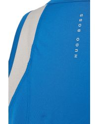 BOSS Blue Tank Top With Coolmax® Technology: 'tank Top Cmax Micro' for men