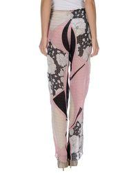 Emilio Pucci - Pink Casual Trouser - Lyst