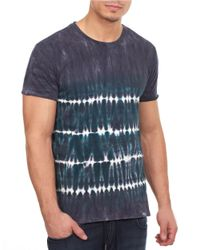 William Rast | Blue Tie Dye Tee for Men | Lyst