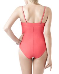 Miraclesuit | Pink Holy Moley Bust A Move One-piece Swimsuit | Lyst