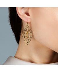 Prismic Earrings Chandelier - Metallic Citrine Prismic Chandeliers - Lyst