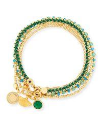 Astley Clarke | Green Earthly Inspirations Charm Bracelets | Lyst