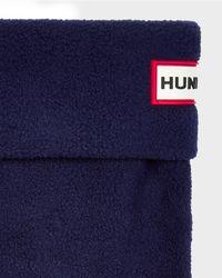 Hunter | Blue Kids' Boot Socks | Lyst