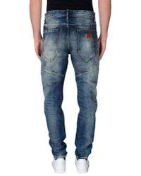 Antony Morato - Blue Denim Trousers for Men - Lyst