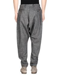 CAMO - Gray Casual Trouser for Men - Lyst