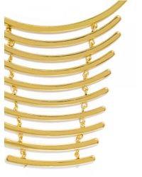 BaubleBar | Metallic Gold Vertebrae Bib | Lyst