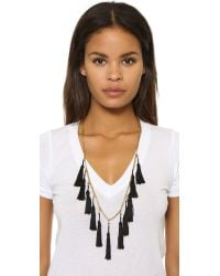 Vanessa Mooney - Metallic The Lovell Tassel Necklace - Lyst