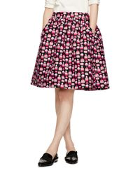 kate spade new york | Black Petit Four Cupcake Skirt | Lyst