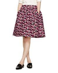 Kate Spade | Black Petit Four Cupcake Skirt | Lyst
