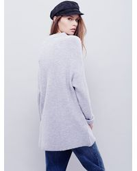 Free People | Purple Winding Ivy Pullover | Lyst