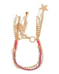 Venessa Arizaga   Metallic Malibu Charm Bracelet   Lyst