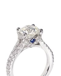 Vera Wang Love - Metallic Boutique Diamond Engagement Ring - Lyst
