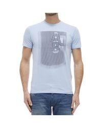 Armani Jeans | Blue T-shirt for Men | Lyst