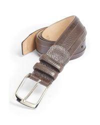 Mezlan - Brown Calfskin Belt for Men - Lyst