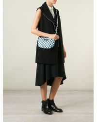 Marc By Marc Jacobs - Blue 'new Q Checkerboard Percy' Crossbody Bag - Lyst