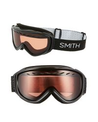 Smith Optics - Black 'transit' 175mm Snow Goggles - Lyst