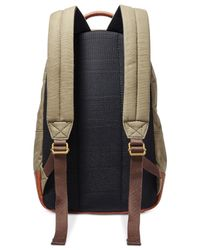 Fossil - Green Estate Canvas Backpack for Men - Lyst