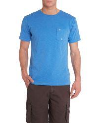 Quiksilver   Blue Colville T-Shirt for Men   Lyst