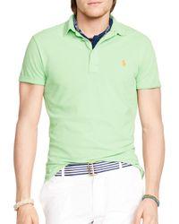 Ralph Lauren - Green Polo Featherweight Polo Shirt - Regular Fit for Men - Lyst