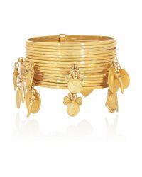 Dolce & Gabbana | Metallic Gold-tone Charm Bracelet | Lyst