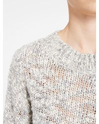 DKNY - Gray Pure Trapeze Pullover - Lyst