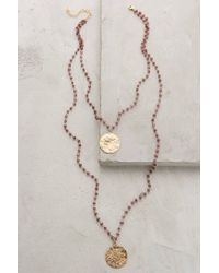 Heather Hawkins | Metallic Oloron Layered Necklace | Lyst