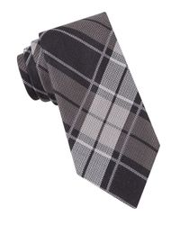 John Varvatos - Black Vintage Plaid Tie for Men - Lyst