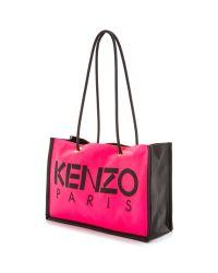 KENZO - Pink Kanvas Tote Bag - Rose Begonia - Lyst