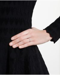 Yvonne Léon | Metallic 18Kt Gold And Antique Diamond Ring | Lyst