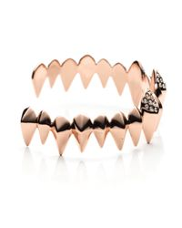 Alexis Bittar - Pink Liquid Rose Gold Faceted Spear Cuff - Lyst