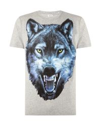 DIESEL | Gray 't-diego-ia' T-shirt for Men | Lyst