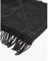 Norse Projects - Gray Sigurd Scarf for Men - Lyst