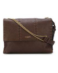 Lanvin - Brown Sugar Leather Shoulder Bag  - Lyst