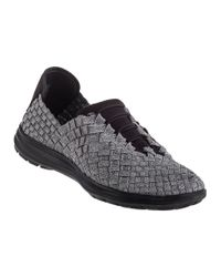 Bernie Mev | Metallic Victoria Sneaker Pewter Fabric | Lyst