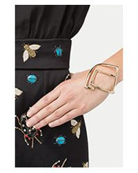 Alexis Bittar - Metallic Kinetic Geometric Cuff - Gold - Lyst