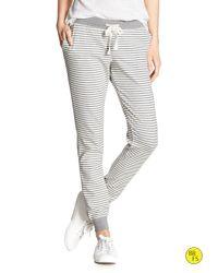 Banana Republic | Gray Factory Stripe Lounge Pant for Men | Lyst