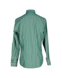 Stussy - Green Shirt for Men - Lyst